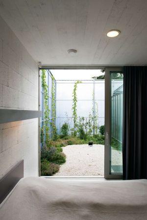 Chambre & Vue Mini Jardin Extérieur - House-in-House Par Plural - Bernolakovo, Slovaquie