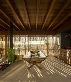 Cheminée & Armoire Salon - Catucaba-Farm Par Studio MK27 - Catucaba, Brazil