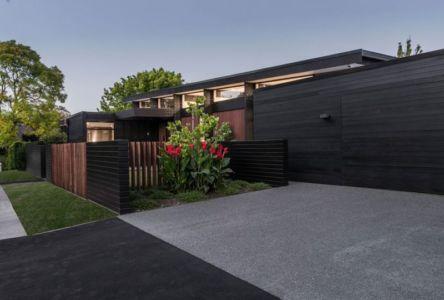 Clôture Bois Extérieure - Bradnor-Road Par Cymon Allfrey Architects - Fendalton, Nouvelle-Zelande
