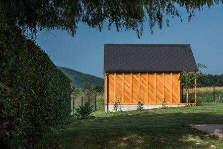 Clôture Propriété - Family-Villa-XL - Sono-Arhitekti - Slovenie
