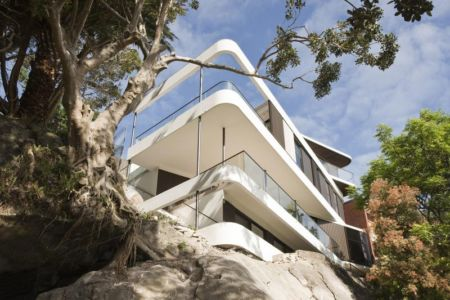 Cliff-Top-House par Luigi Rosseli Architects - Sydney, Australie | + d'infos