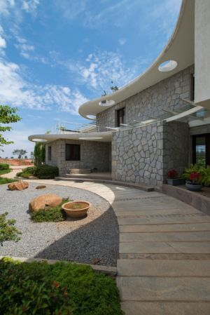 Clover-Villa par  Mistry Architects - Banalore, India | + d'infos