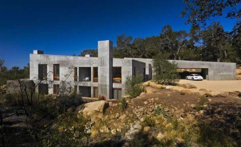 Contemporary Concrete House par Studio Shubin + Donaldson - USA -  Photos  Ciro Coelho - + d'infos