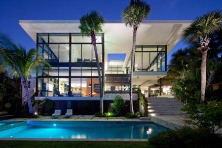 Coral Gables Residence par Touzet Studio - Coral Gables, USA - Photo Robin Hill