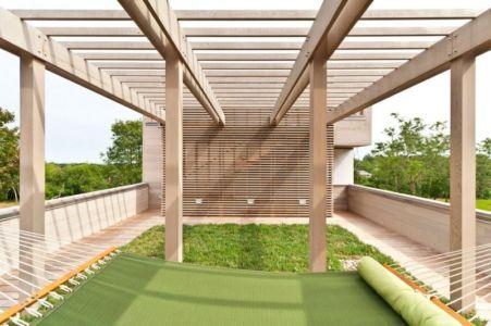 Couchette Extérieure & Mini Jardin - Fishers-Island-House Par 4 Architecture - New York, USA