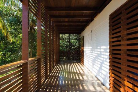 Balcon - Casa Tropical par Camarim - Mundau, Brézil