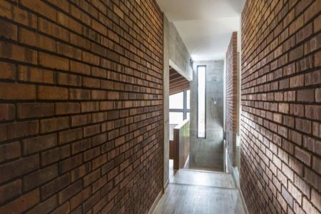 Couloir étage - Sepang-House par Eleena Jamil Architect - Sepang, Malaisie