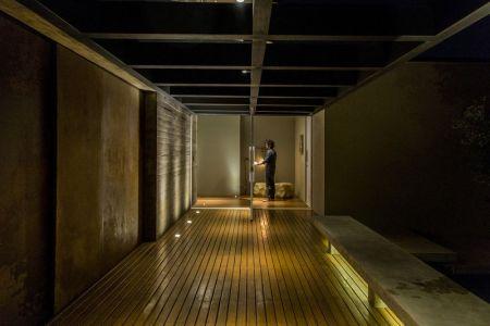 Couloir Intérieur - MCNY-House Par Mf Arquitetos - Franca, Bresil