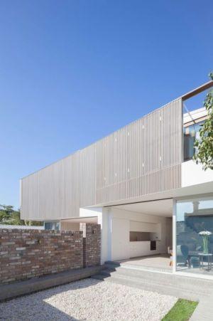 Cour Intérieure - Balmain-House Benn & Penna Architects - Sydney, Australie