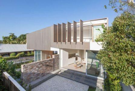 Cour Intérieure & - Balmain-House Benn & Penna Architects - Sydney, Australie