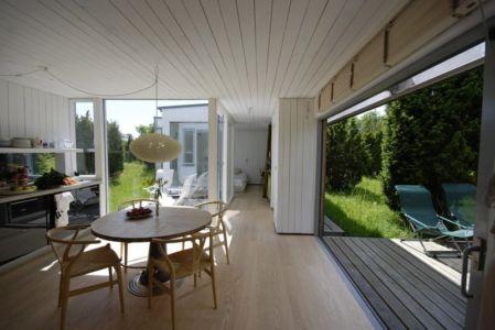 Cuisine Américaine - juniper-house par Murman Arkitekter - Kattammarsvik, Suède