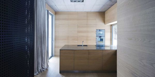 Cuisine - Maison Exclusive par Ofis Architects - Ljubljana, Slovenie