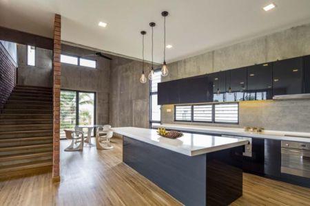 Cuisine - Sepang-House par Eleena Jamil Architect - Sepang, Malaisie