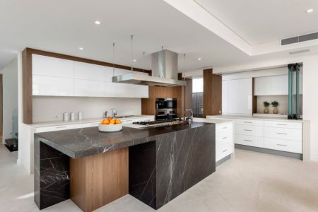 Cuisine - cottesloe-residence par Custom-Homes - Perth, Australie