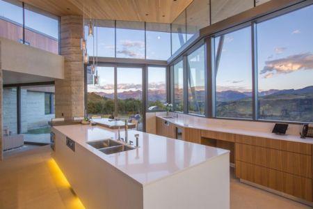 Cuisine & grande ouvertures vitrées - home-Colorado par Bill-Poss - Colorado, USA
