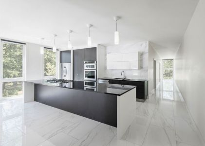 Cuisine - Bower-House Par Kariouk Associates - Lac Erie, Canada