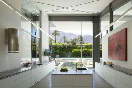 Cuisine - Desert Canopy House Par Sander Architects - Palm Springs, USA