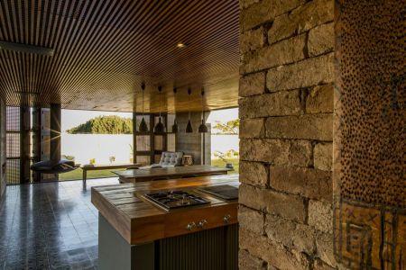 Cuisine - MCNY-House Par Mf Arquitetos - Franca, Bresil