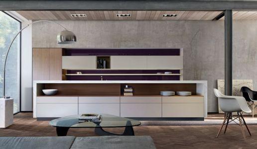 Cuisine - Super-Villa Par Wolf Architects - Los Angeles, USA