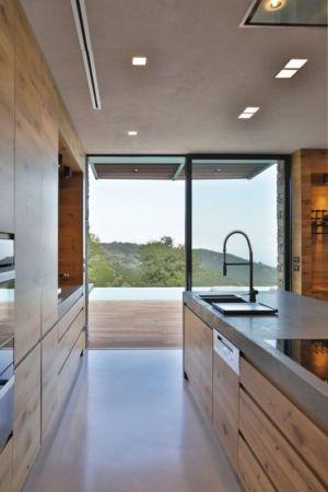 Cuisine - Villa-N Par Giordano Hadamik Architects - Imperia, Italie