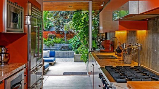 Cuisine - Wood-Clad-Home Par Space International - Los Angeles, Etats-Unis