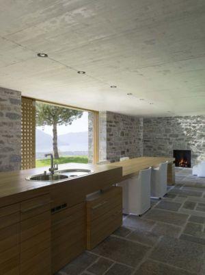 Cuisine & Salle Séjour - Building-Brione Par Meuron Romeo - Minusio, Suisse