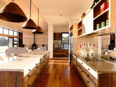Cuisine & Salon - Flinders-House Par Peter Schaad Design, Australie
