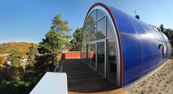 Dôme Niveau Supérieur - Family Villa Par Fusion Architects - Prague, Republique Tcheque
