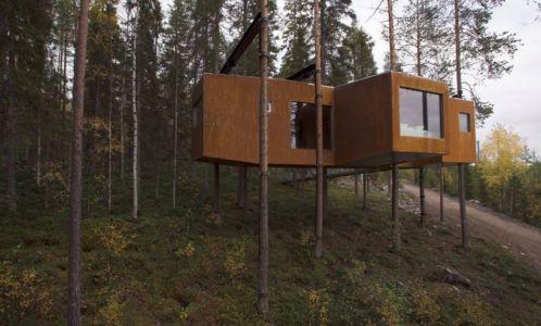 Dragonfly par Rintala Eggertsson Architects - Norrbottens Ian, Suède| + d'infos