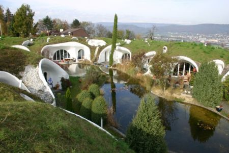 Earth-House par Vetsch-Architektur - Dietikon, Suisse