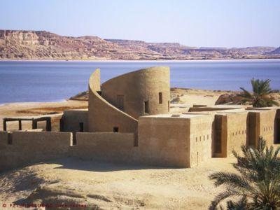 Ecolodge par FELIX-DELUBAC Architectes - Siwa, Egypte | + d'infos