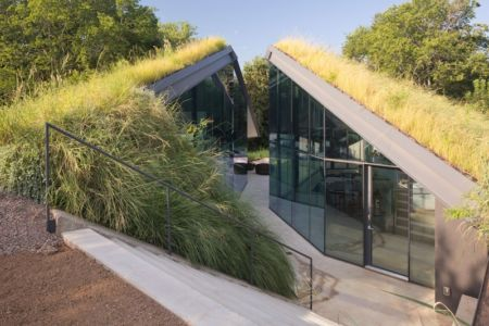 Edgeland House par Bercy Chen Studio - Austin, Texas, USA - Photo Paul Bardagjy