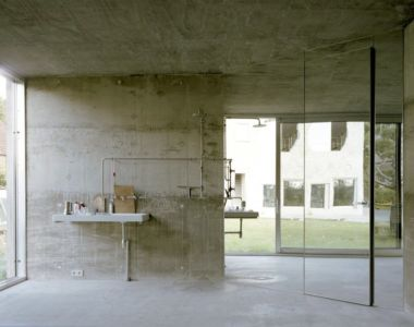 Salle de bains - Antivilla par Brandlhuber, Potsdam, Allemagne
