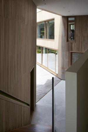 Entrée - Astrid-Hill-House par Tsao & McKown Architects - Singapour