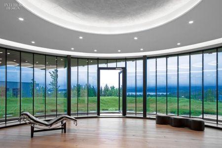 Pièce de vie - Private Residence par Eon Architects - Reykjavik,Islande