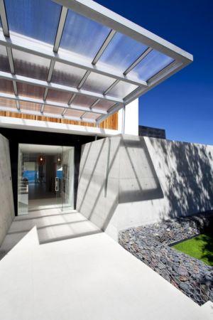 Entrée - Coolum Bays House par Aboda Design Group - Coolum Beach, Australie - photo Paul Smith