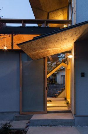 Entrée - Eaves-House par Y Plus M Design - Kyoto, Japon