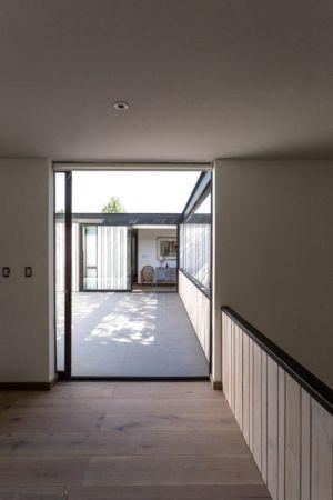 Entrée - House-LG10182 par Brugnoli Asociados Arquitectos - Santiago, Chili