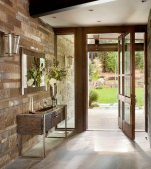 Entrée Principale Intérieure  - Valhalla Résidence par RKD Architects - Californie, USA