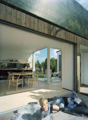 Entrée Salle de Séjour - juniper-house par Murman Arkitekter - Kattammarsvik, Suède