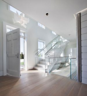 Entrée - Squam Residence par J. Brown Builders - Nantucket Island, Usa - photo Jeffrey Allen
