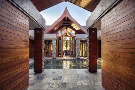 Entrée - iniala-beach-house par Estudio & A-Cero - Phang Nga, Thaïlande