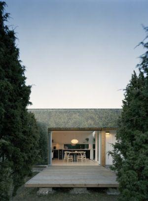 Entrée - juniper-house par Murman Arkitekter - Kattammarsvik, Suède
