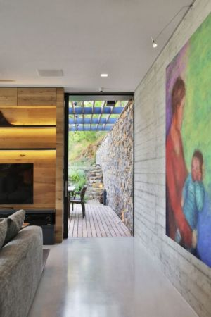 Entrée - Villa-N Par Giordano Hadamik Architects - Imperia, Italie