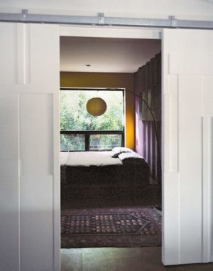 Entrée Chambre - Shipping-Container-Home Par Moseley Mathesius - New Jersey, Etats-Unis