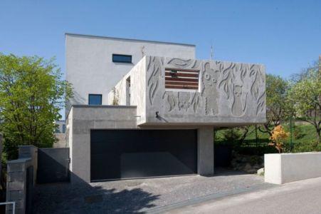 Entrée Garage - Villa-Inga Par Par Sebo Lichy - Bratislava, Slovaquie