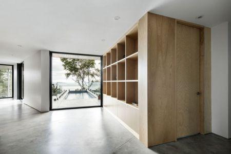 Entrée Pièce Principale - V-Shaped-Residence Par Bourgeois Lechasseur - Charlevoix, Canada