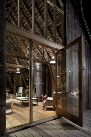 Entrée Salon - Rural-Barn Par MW Works - Leavenworth, USA