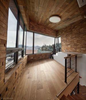 Esape étage Supérieur - Tower-House-maison-x Par ON Architecture - Gimhae, Coree Du Sud