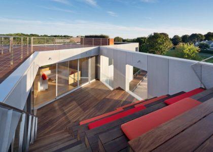 Toiture terrasse - 365ML par Levenbetts - New York, USA